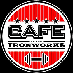 old iron works gym maldon essex cafe logo